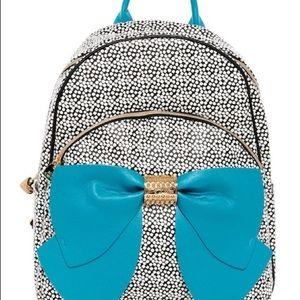 Betsey Johnson backpack & lunchbox